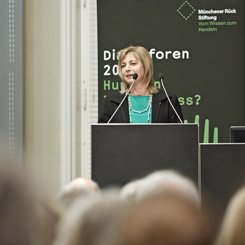 Birgit Schramm, Ökothrophologin in Hamburg